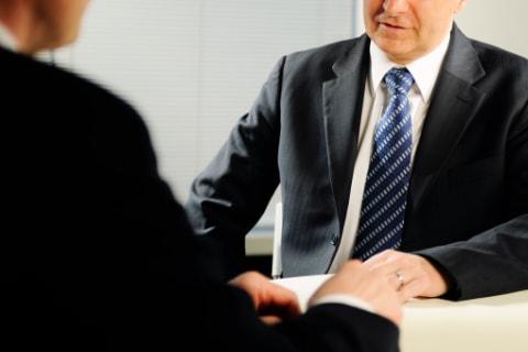 企業との面談及び選考